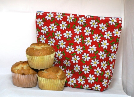 Daisy Girl Reusable Sandwich Bag