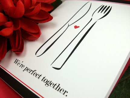 Perfect Together Valentine Note Card