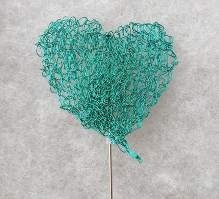 Giver Her Your Heart Brooch