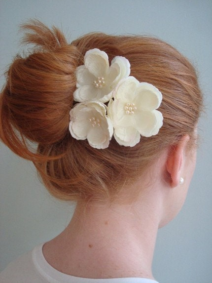 Meagan- Three Whimsical Hair Pins