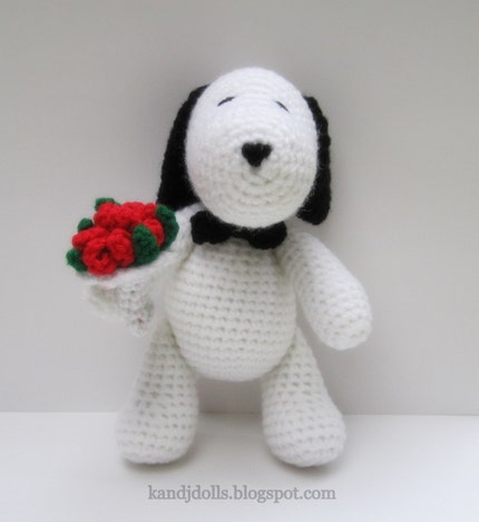 CROCHETED SNOPPY PATTERN « CROCHET PATTERNS