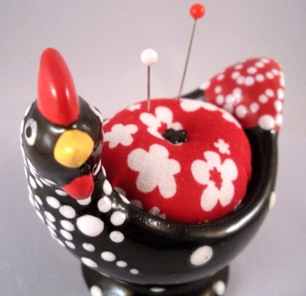 The Other Little Chick Pincushion