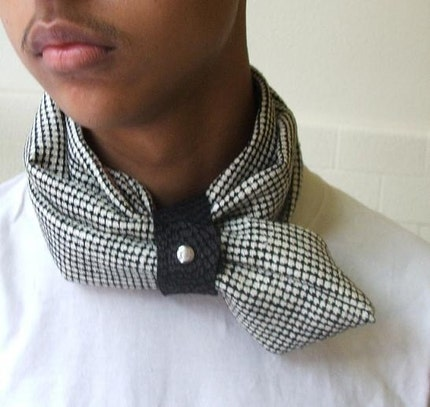 Dog tooth Neckscarf  for men or women unisex