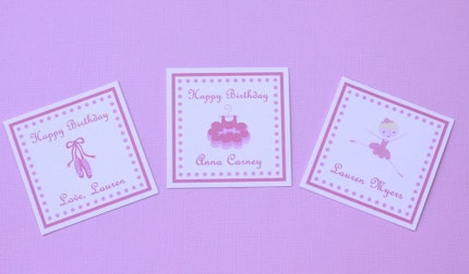 Personalized Square Gift Cards/ Calling Cards - Set of 12