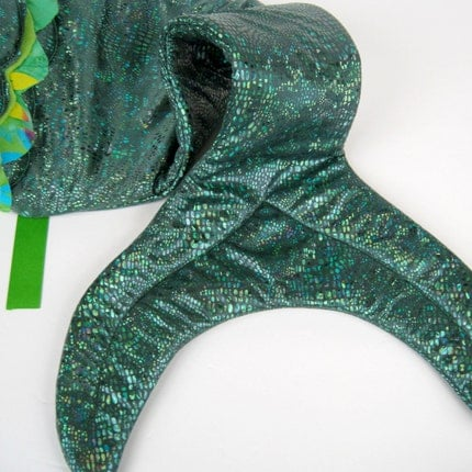 Mermaid Tail - Scale Green (LARGE)