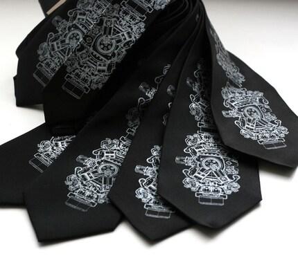 7 Groomsmen microfiber neckties, wedding bulk discount, matching ties, same design