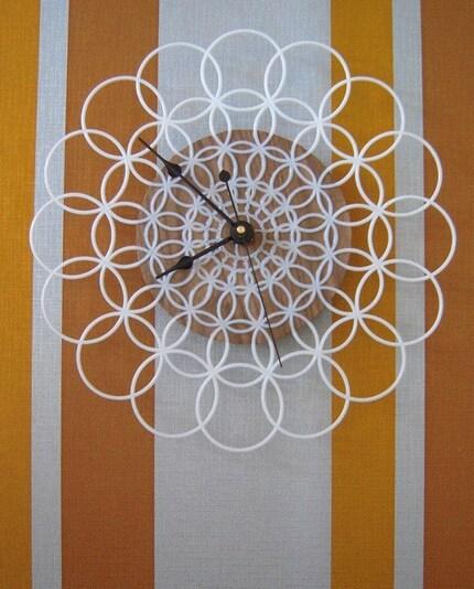 doily clock
