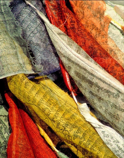 Featured on Cupid - Nepali Prayer Flags 8x10