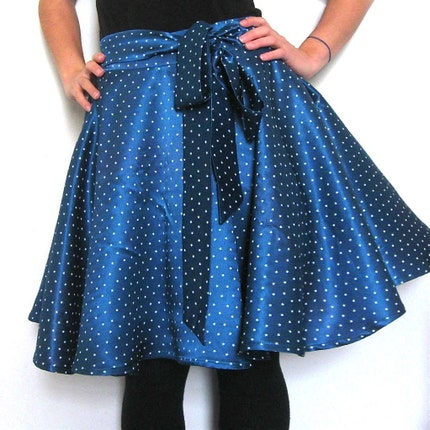 Dancing Queen satin skirt