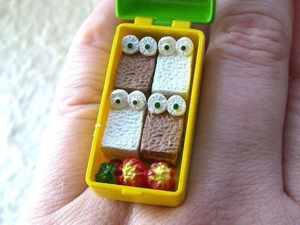 Kawaii Cute Japanese Ring - Kid's Bento Lunch