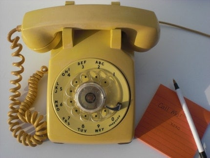 Vintage Rotary Phone ONE DAY ONLY Easter Sale