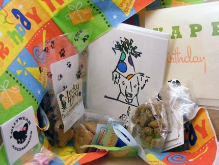 Birthday Box for Dogs or Cats