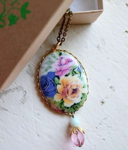 Rosy Necklace