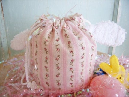 PDF - Easter Lamb Drawstring Treat Bag