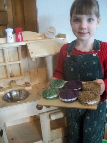 Oatmeal Creme Pie Cookies Pretend PlayFood Waldorf