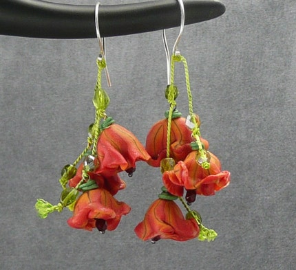 Dancing Flowers Earrings