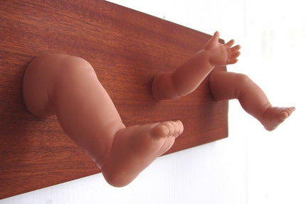 Baby Limbs Hooktastic Coat and Key Rack