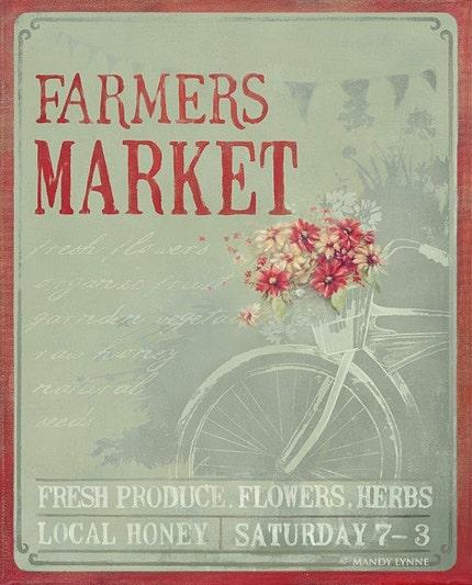 Farmers Market 16x20
