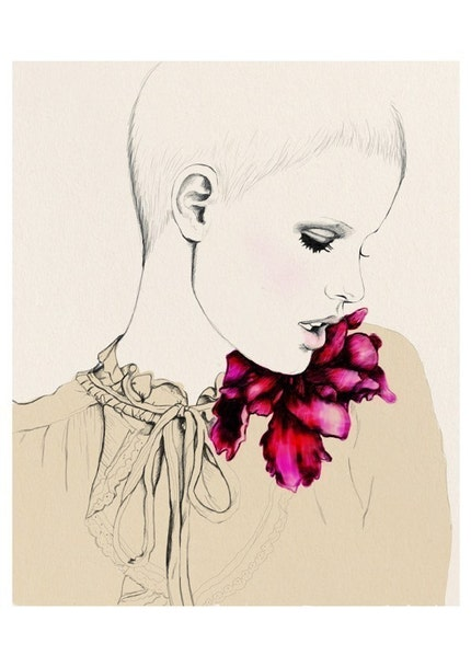 Flora, via Etsy: sandrasuy