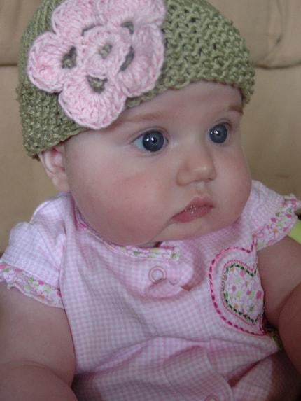 Malindi Grace baby hat
