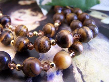 Golden Tiger Necklace