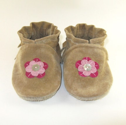 Baby Moccasins Shoes 6 to 12 Month Eco Friendly