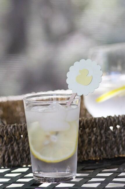 Little Ducky Stir Sticks for Baby Shower/Birthday Party