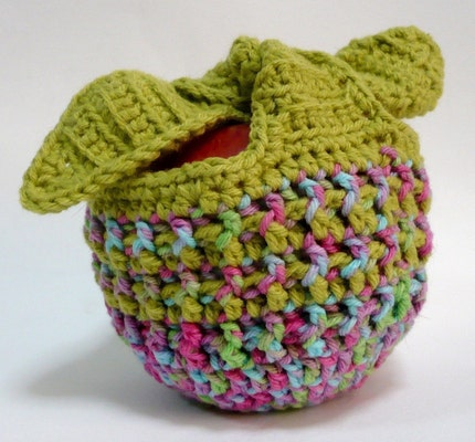Vegan Craftastic: Angry Apple Cozy! - blogspot.com