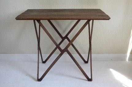 Military Folding Table