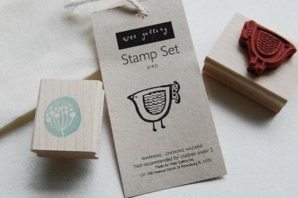 Bird Stamp Set