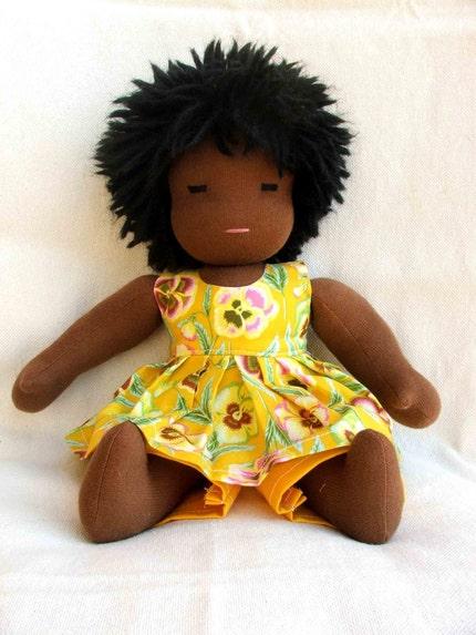 Sunshine- 14 inch Waldorf style doll