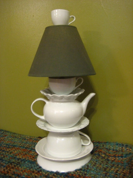Tea for Two Lamp