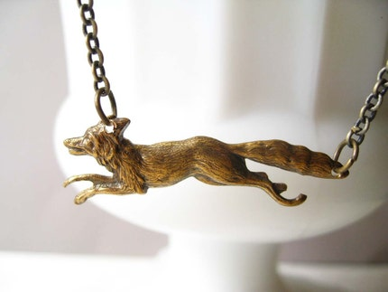 Fantastic Mr. Fox Necklace