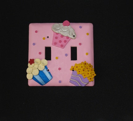 Cupcake Lightswitch Cover