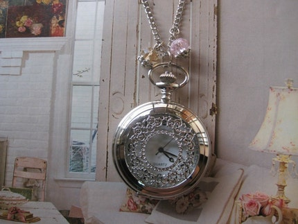 WATCH NECKLACE SWEET VICTORIAN