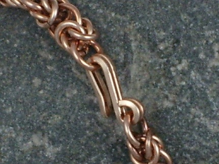 Bronze Chainmaille Bracelet
