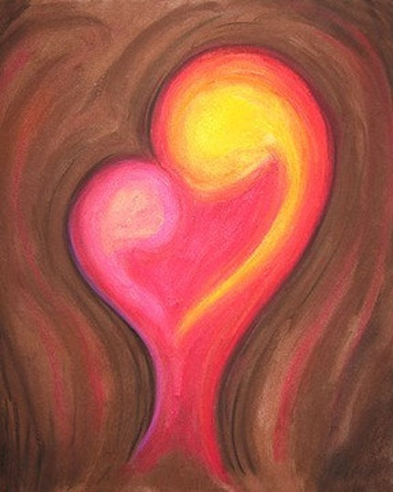 A Mothers  Love - Inspiring and Positive Fertility Art Print
