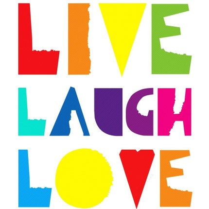 Live, Laugh, Love - 11 x 14 - Archival Giclee Print