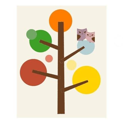 Gumdrop Tree - 8 x 10 Archival Giclee Print