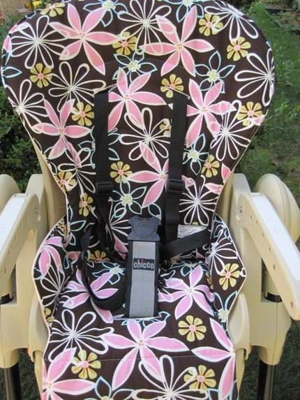 Custom CHICCO POLLY High Chair Cover - You Choose the Fabric