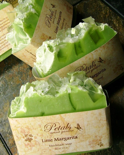 Lime Margarita Handmade Cold Process Soap