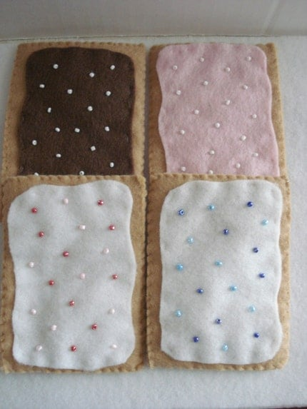 Felt Pop-Tart Set