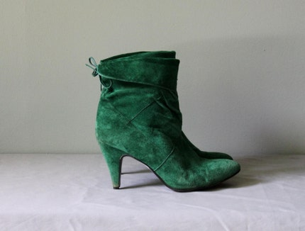 More green shoes photo 1