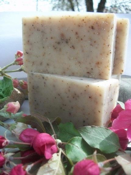 Organic  Exfoliating Soap with Juniper Berries 4 oz bar