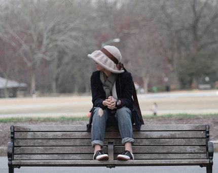 Linen Floppy Sun Hat