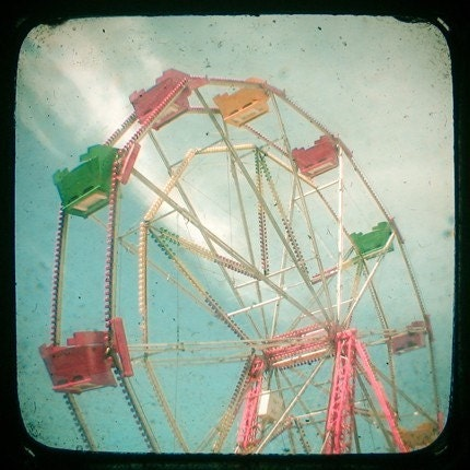 Big Wheel II 8x8 Print