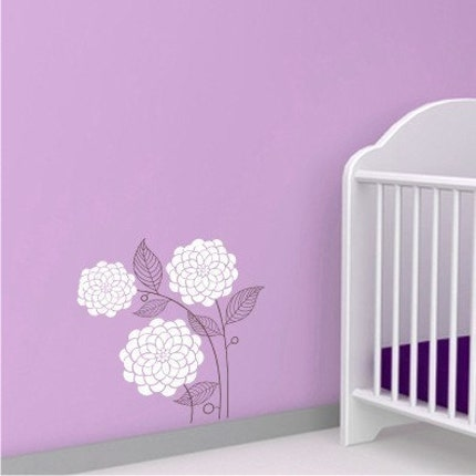 Modern Mums - 2 Color - Vinyl Wall Decals Sticker Graphic