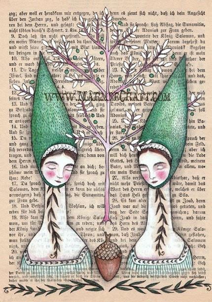 Our Oak Tree, Print