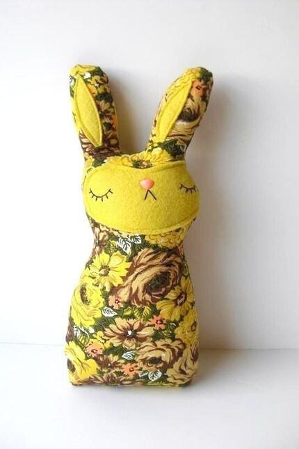 Ramona Rose - The Sleepy Woodland Bunny Plush - Made to order