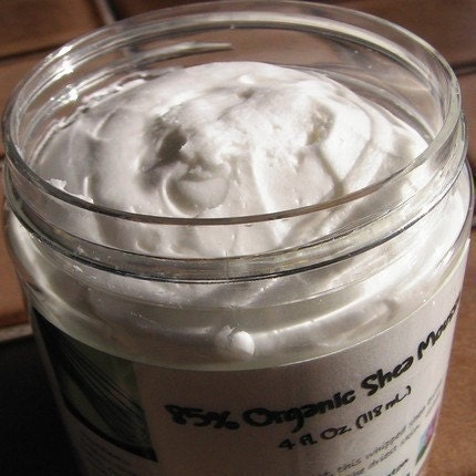 Gingerbread - 85 Percent Organic Shea Mousse - Fluffy and Decadent Unrefined Whipped Shea Butter